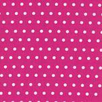 Swafing LEONA Wachstuch Punkte pink