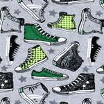 Swafing VICENTE Chucks grau/ grün