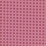 Hilco HILDE Blumen Kreise rosa rot