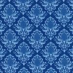 Hilco HILDE Ornament barock blau