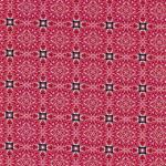 Hilco HILDE Ornament Viereck rot