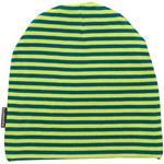 Maxomorra Beanie Mütze STRIPE grün