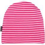 Maxomorra Beanie Mütze STRIPE rosa pink