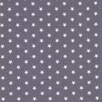 CARRIE Sterne grau weiß