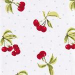 Engl. Dekostoff CHERRIES chintz