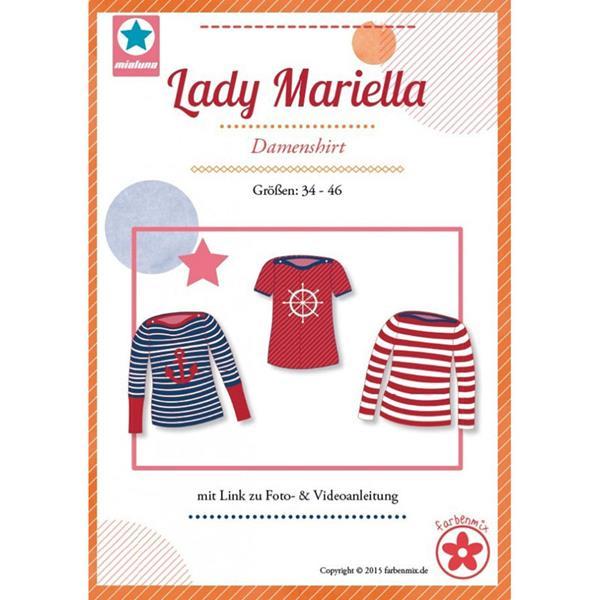 Farbenmix Schnittmuster LADY MARIELLA