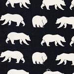 Birch Fabrics BEAR CAMP CANVAS dunkelbla