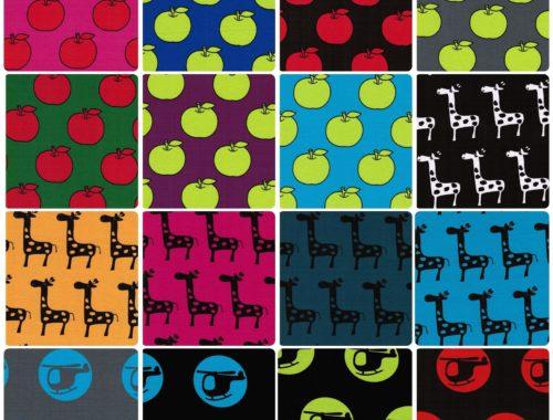 Neue Stoffe von Farbenmix und neue Jerseys....