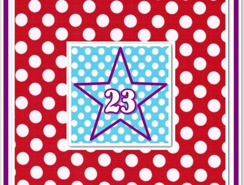 Türchen N°23 im Adventsmirakel!