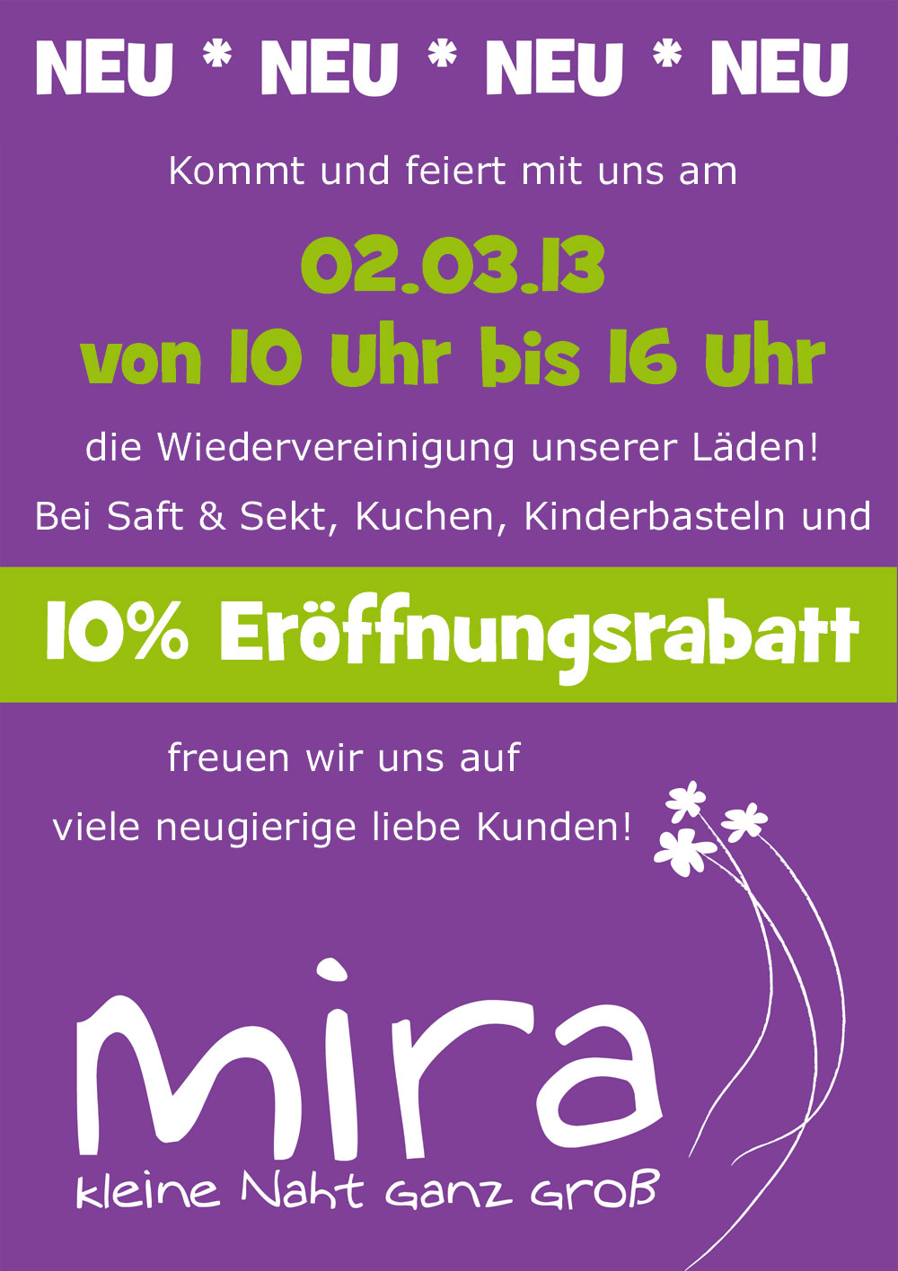 mira's Wiedervereinigung ;-)