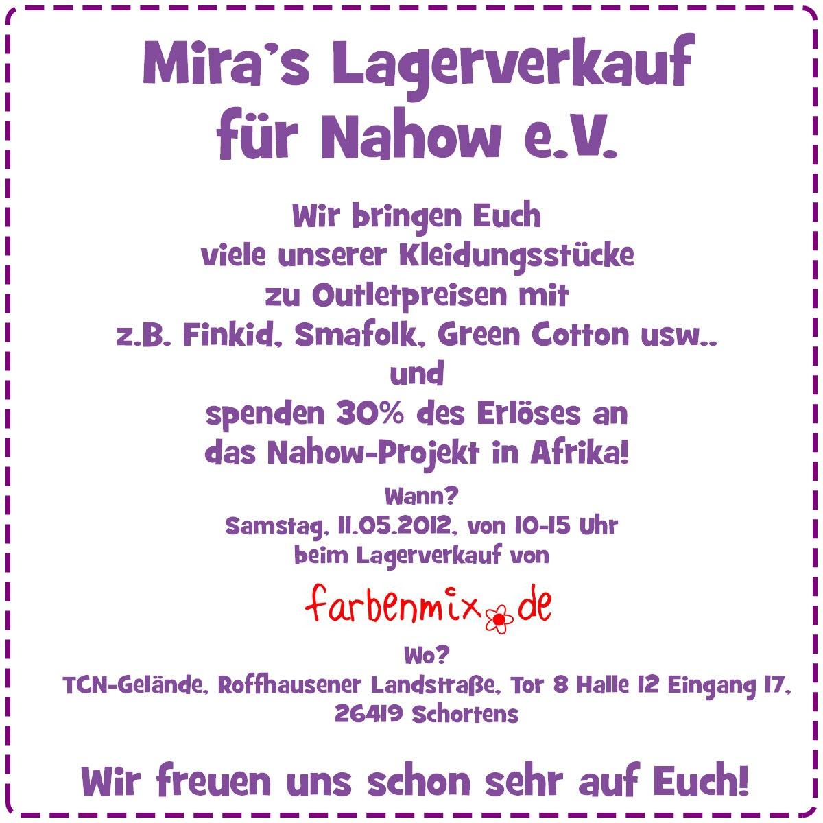 Mira's Lagerverkauf beim Farbenmix-Lagerverkauf! 1