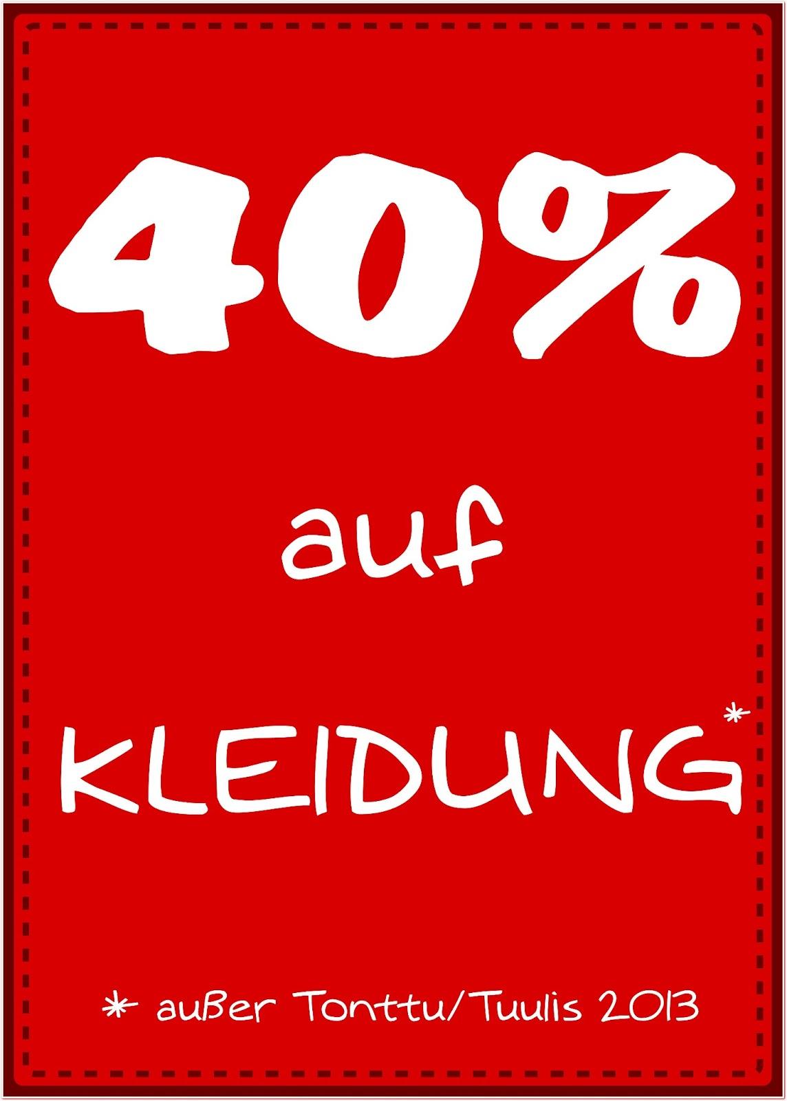 Jetzt wirds verrückt - wir reduzieren bis 40%!