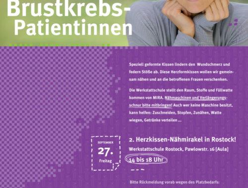 2. Herzkissen-NähMIRAkel in Rostock!