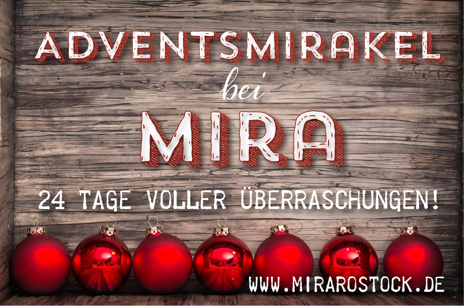 Unser mira - Adventsmirakel startet wieder! 2