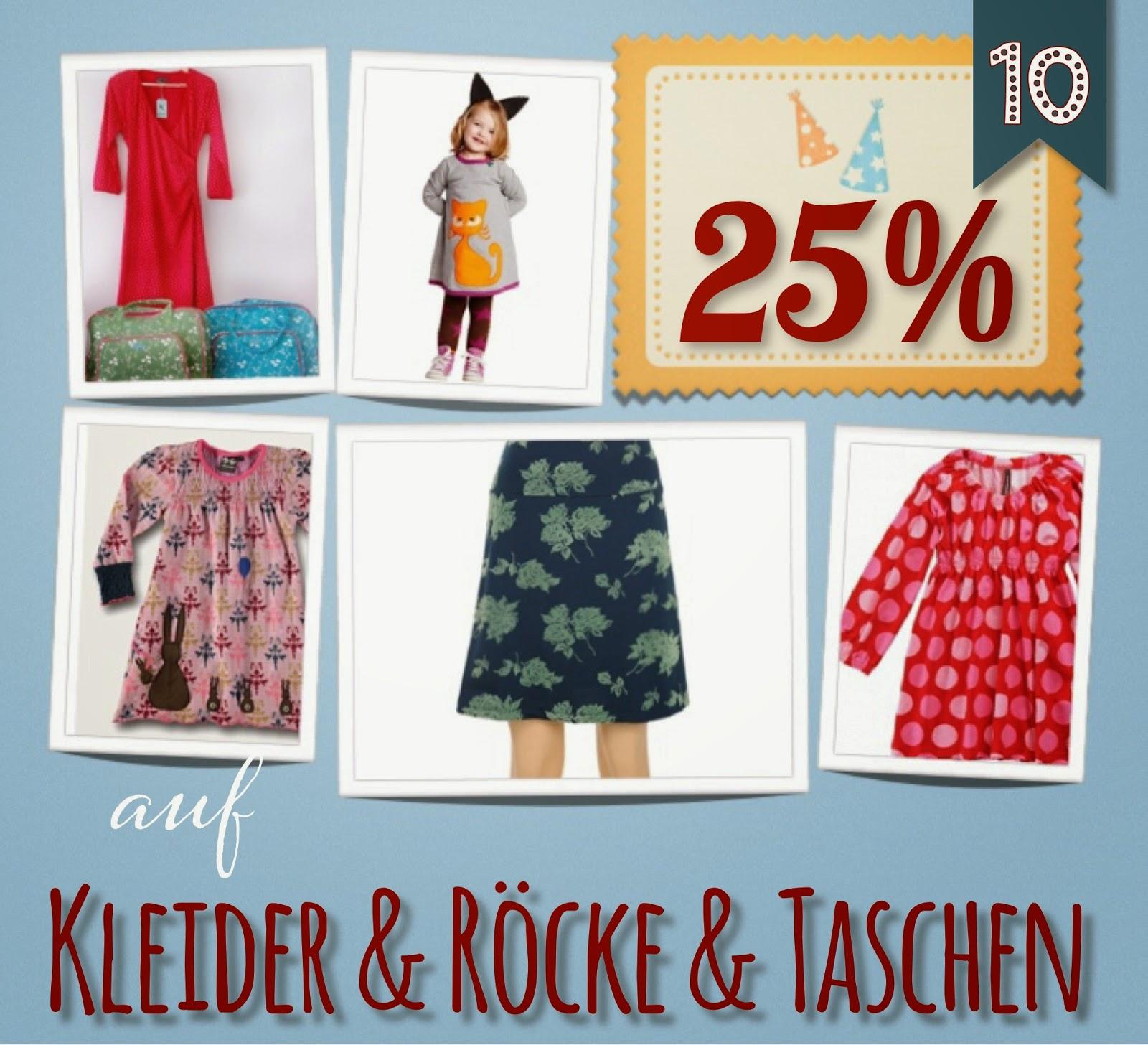 Türchen N°10 im Adventsmirakel: 25% auf Kleider, Röcke & Taschen! 1