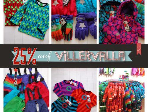 Türchen N°12 im Adventsmirakel: 25% auf VILLERVALLA & UBANG!