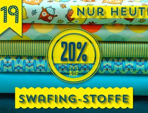 Türchen N°19 im Adventsmirakel: 20% auf alle SWAFING-Stoffe!