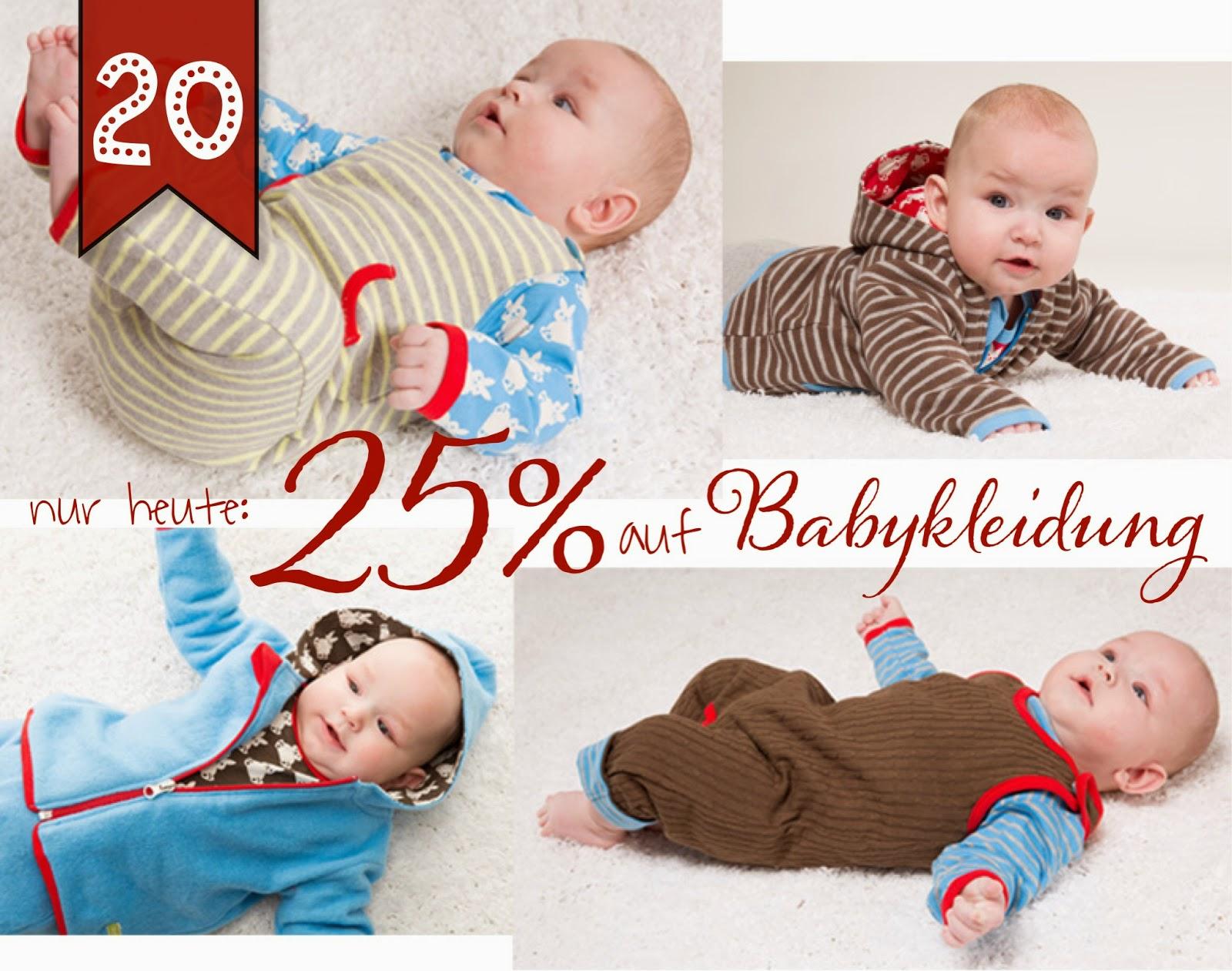 Türchen N°20 im Adventsmirakel: 25% auf Babykleidung! 2