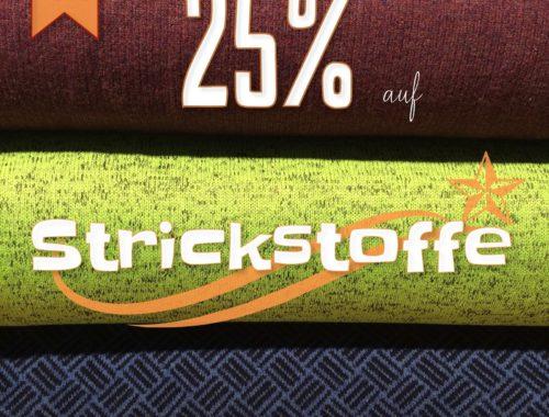 Türchen N°22 im Adventsmirakel: 25% Rabatt auf Strickstoffe!