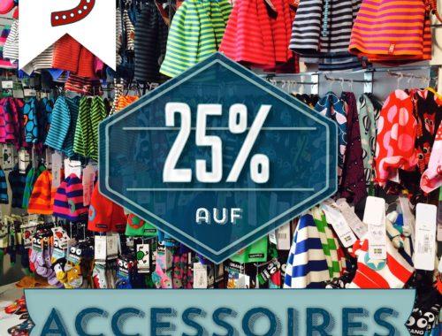 Türchen N°3 im Adventsmirakel: 25% auf Accessoires!