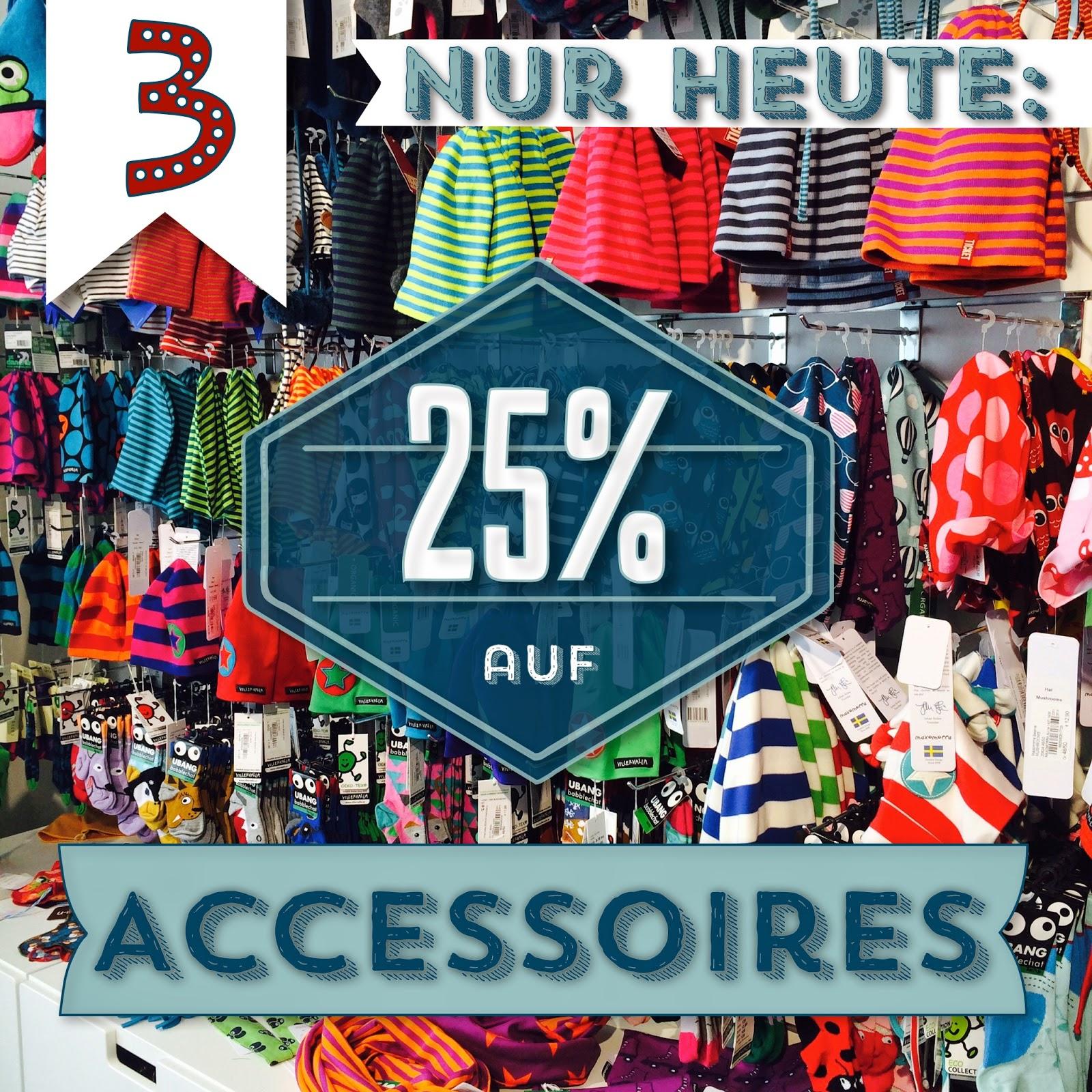 Türchen N°3 im Adventsmirakel: 25% auf Accessoires! 2