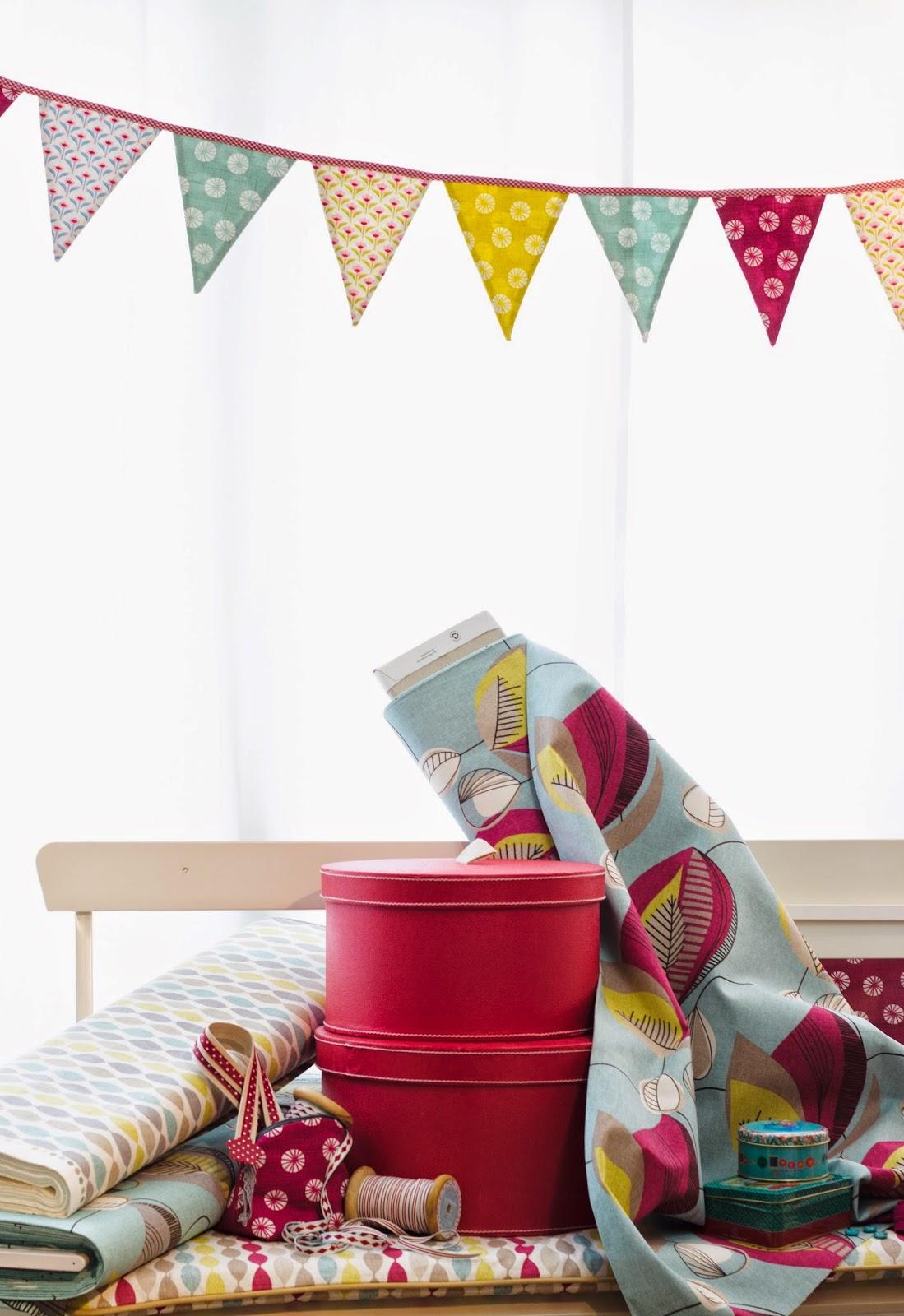 Frischer Wind für Euer Zuhause mit den wunderschönen Dekostoffen von Clarke & Clarke! 1