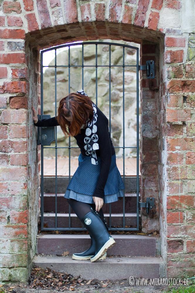 #nähmob oder Rock, Tür und Gummistiefel-Shooting 7