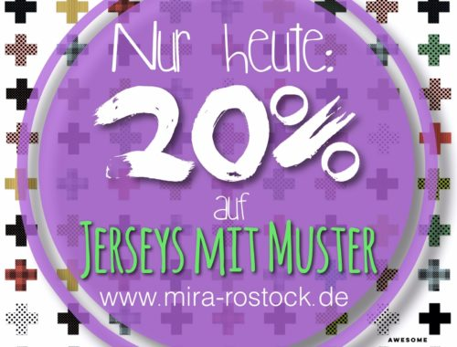 Big-Jersey-Sale! Nur heute! ;-)