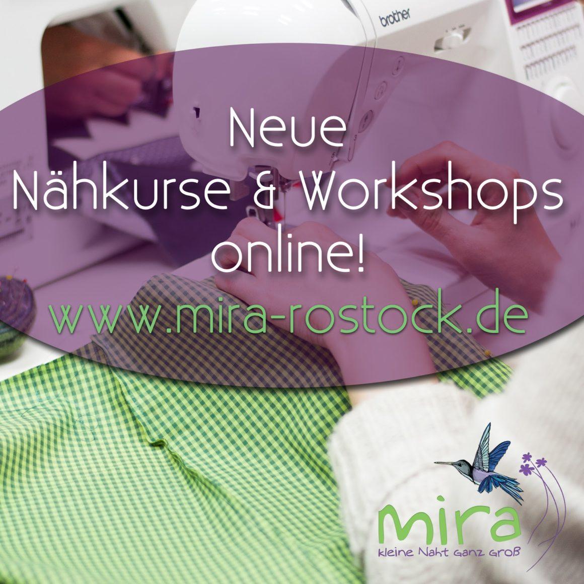 Nähmirakel und Workshops....die neuen Kurse sind buchbar!