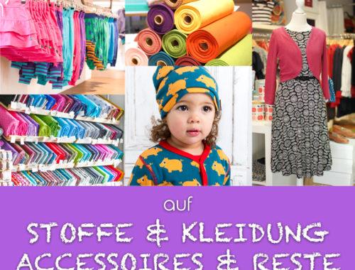 Raus aus dem Mai! 25% Rabatt auf Stoffe, Kleidung, Accessoires & Reste