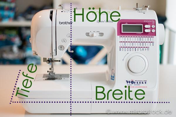 Anleitung für eine Nähmaschinen-Hülle :-) *FOR FREE*