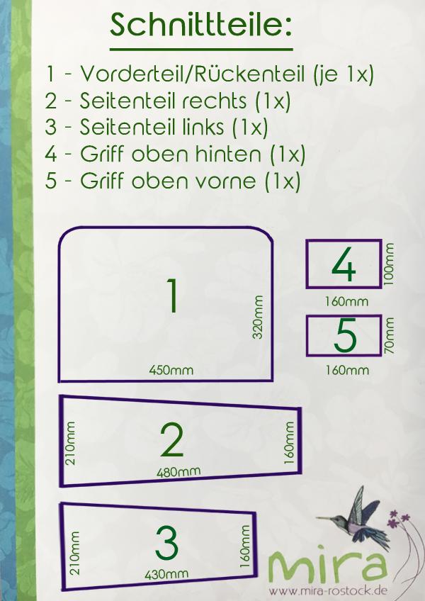 Anleitung für eine Nähmaschinen-Hülle :-) *FOR FREE* 5