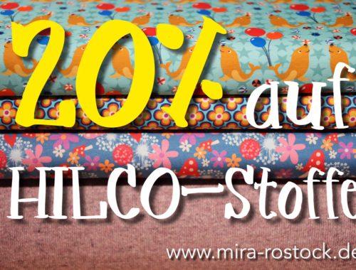 miras Advents-Countdown - 20% Rabatt auf Hilco-Stoffe