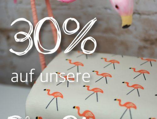 miras Advents-Countdown - 30% auf Bio-Stoffe!