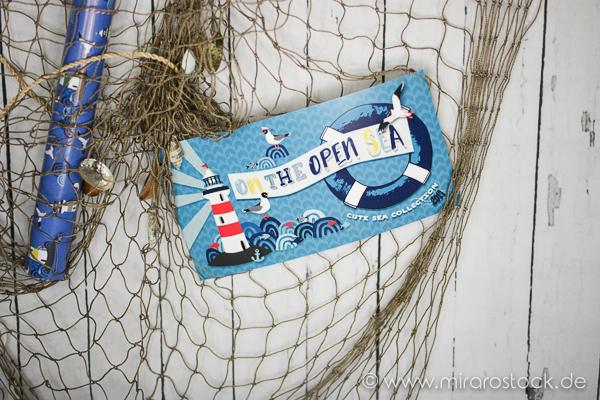 'On the open sea' - noch eine Liebeserklärung an die Lila-Lotta-Kollektion! 1