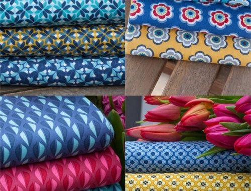 Happy Flowers - Happy Summer! Die neuen Sommerstoffe von Lila Lotta sind da!