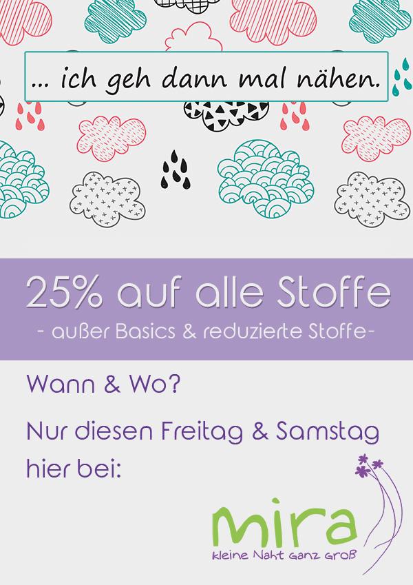 Morgen bei mira: Rostocker Regen - Rabatt ;-) 2