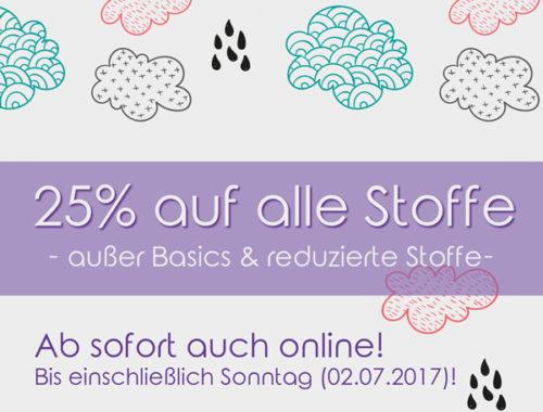 Ab sofort auch online: Rostocker-Regen-Rabatt!