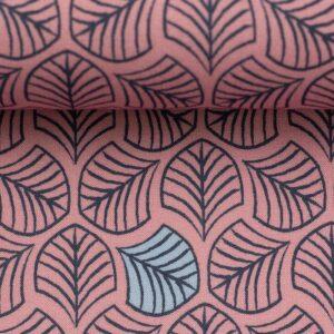 CHANTING TREES by Bienvenido Colorido Viskose-Webware prosa