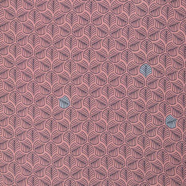 CHANTING TREES by Bienvenido Colorido Viskose-Webware rosa total