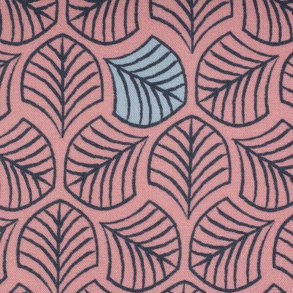 CHANTING TREES by Bienvenido Colorido Viskose-Webware rosa zoom