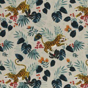 EMMA Canvas Leinenoptik Tiger/Dschungel natur total
