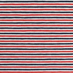 GALA Jersey Ringel Jersey weiß rot dunkelblau total