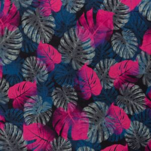 JUNGLE NETWORK by Thorsten Berger Voile pink blau schwarz total