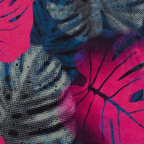 JUNGLE NETWORK by Thorsten Berger Voile pink blau schwarz zoom