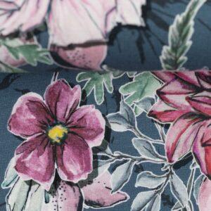 MY WATERCOLOR GARDEN by Lila Lotta Jersey jeansblau