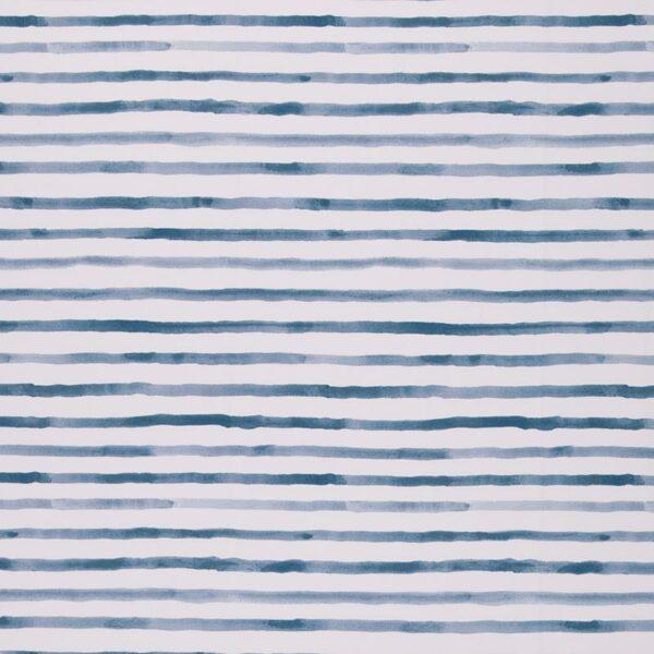 OCEAN BREEZE Jersey Streifen rauchblau weiß total