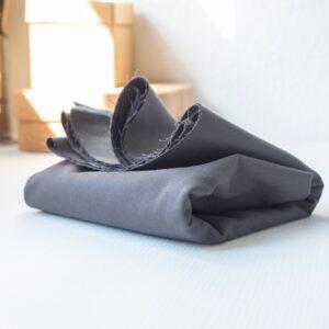 WASHED COTTON TWILL 9 oz dark grey