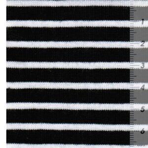 CAMPAN Baumwoll-Jersey Streifen nachtblau weiss zoom