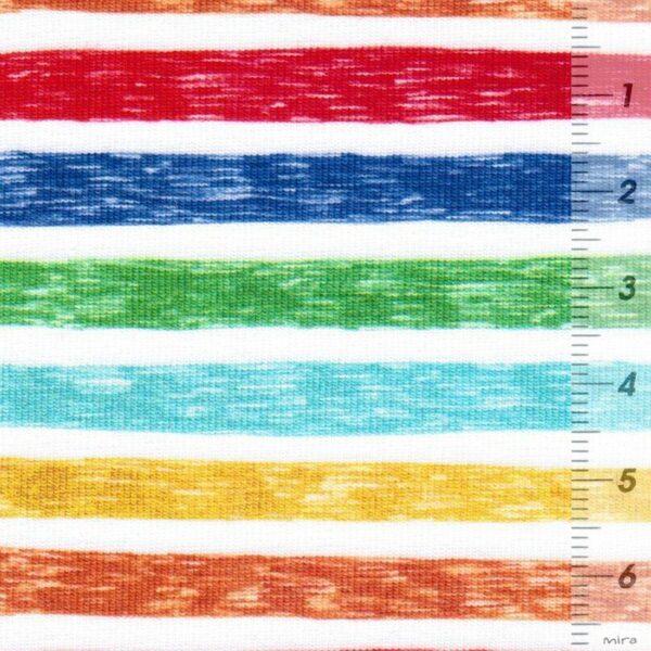 TRAFIC LINE Baumwoll-Jersey Streifen bunt zoom